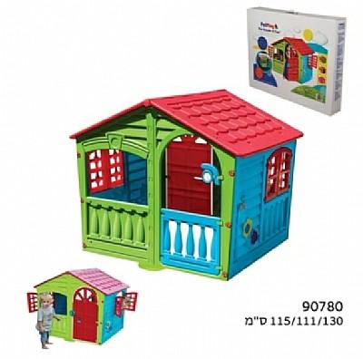 טוב מאוד בית משחקים לילדים קוטג עם ארגז כלים 7145 YY-46